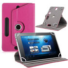 Universal Leather Flip Case Magnetic Cover For 7 inch Android Tablet PC USA