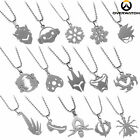 New Overwatch Reaper Tracer Stainless Steel Chain Pendant Necklace Cool Jewelry