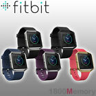 Silicone Replacement Strap Band + Silver Metal Frame For Fitbit Blaze UK SELLER