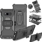 Belt Clip + Shockproof Hybrid Hard Stand Case Cover For Samsung Galaxy Note 8