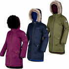 Regatta Hollybank Girls Parka Insulated Waterproof Coat
