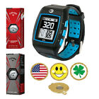 GolfBuddy WT5 Golf GPS/Rangefinder Watch + Callaway Chrome Soft/X + Ball Marker