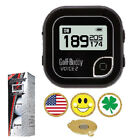 Black GolfBuddy Voice 2 Golf GPS / Rangefinder + Srixon Z Star XV + Ball Marker