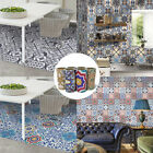 Self-adhesive Tile Stickers Wall Kitchen Bathroom Floor Decor Vinyl Decal AU