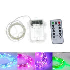5M 50 LED Remote Control Dimmable String Lights Fairy Christmas Battery Lighting