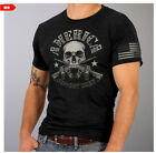 Skull & Crossed Rifles America Support Team T Shirt L1005