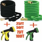 100Feet Expandable High Pressure Garden Hose with 3/4