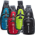 Travel - Men Women Nylon Sling Bag Backpack Crossbody Shoulder Chest Cycle Daily Travel