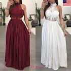 US STOCK Women Boho Casual Long Maxi Evening Party Cocktail Beach Dress Sundress