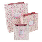 Birthday Christmas Party Wedding Gift Xmas Engagement candy Paper bag Pink Roses