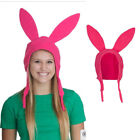 US STOCK Family Matching Hat-Bob's Burgers Louise Ears Cosplay Pink hat Licensed
