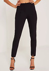MISSGUIDED tall black skinny fit cigarette trousers (M57/3)