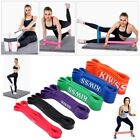 KIWSS Latex Pull Up Assist Bands For Resistance Body Stretching, Powerlifting image