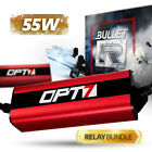 OPT7 35w S2 HID Kit - H4 9003 Hi-Lo - Relay Bundle - All Xenon Color Bulbs on eBay