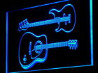 m014 b Guitars Rock n Roll Bar Music Neon Light Sign