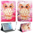 "PU Leather Stand Cover Case For Barnes & Noble NOOK 7"" 9"" Tablet + STYLU"