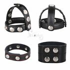 Adjustable Leather Penis Strap Ring Harness Erection Enhancement For Couple Game