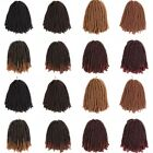 30Roots/Pack Synthetic Ombre Crochet Braids Spring Twist Braiding Hair Extension
