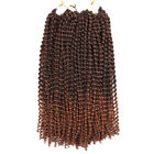 25 Roots/Pack Synthetic Bounce Crochet Braids Hair Curly Braiding Hair Extension
