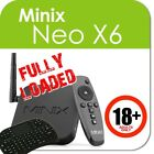 Authorized Distributor:Minix Neo X6 QUAD CORE 4K Android 4 Netflix Adult+ i8