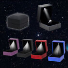 LED Lighted Earring Ring Gift Box Wedding Engagement Ring Jewelry Display #VC