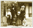 QUEEN VICTORIA AND HER FAMILY AT BALMORAL PRINT. BRITISH MONARCHY