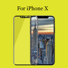 For Apple iPhone X 3D Curved Scratch Full Cover Tempered Glass Screen Protector