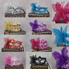 Lace Mask Party Masquerade Ball Eye Masks Flower&Feather Carnival Fancy Dress