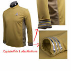 Star Trek Beyond Spock Science Officer Shirt Costume Cosplay Yellow Uniform New on eBay