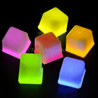 1/6 x LED Ice Cubes Color Changing Decor Flash Lights Submersible Liquid Sensor