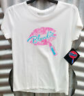 OFFICIAL BLONDIE WOMEN'S WHITE SHORT SLEEVE COTTON T-SHIRT BNWT ($29.95rrp)