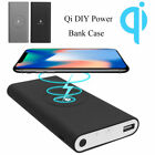 10000mAh Qi DIY Power Bank Kit Wireless Fast Charging Type-C For Cell phones