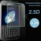 100% GENUINE TEMPERED GLASS FILM SCREEN PROTECTOR FOR BLACKBERRY NEW PHONES