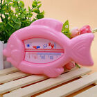 Baby Fish Shape Bath Water Thermometer Floating Toy Sensor Temperature Plastic