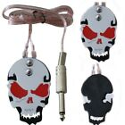 Fashion Tattoo Skull Machine Footswitch Foot Pedal Controller Power Supply Kit