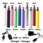 5x Pack Vape-Pen 1100mAh Battery Replacement 510 Thread + Charger Option 5eGo-T
