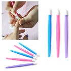1/10/50PCS Orange Wood Stick Cuticle Pusher Remover Pedicure Nail Art Manicure