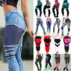Women Sports Yoga Running Gym Fitness Leggings Pants Jumpsuit Athletic Wear N079