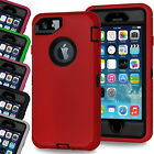 Heavy Duty Tough ShockProof Armour Builder Defender Case Cover For iPhone 8 7 5c