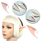 2Pcs Halloween Funny Fairy Elf Cosplay Latex Pointed Prosthetic Ears 4.5cm*10cm