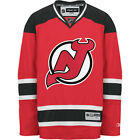 NHL New Jersey Devils Mens Center Ice Red Premier Hockey Jersey MSRP 130