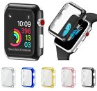 Hard Full Cover Case Shell + Screen Protector For Apple Watch Series 3 38/42mm