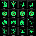 Removable Luminous Temporary Tattoo Body Arm Makeup Art Halloween Tattoo Sticker $1.13 USD