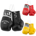 "Внешний вид - Title Boxing 5"" Authentic Detailed ""Muhammad Ali"" Mini Lace Up Gloves"