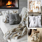 """Apring Gifts Real Rabbit Fur Pillow Case Cushion Cover Home Décor 11.8""""*23.6"""""""