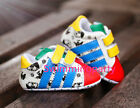 Newborn Baby Boy Girl Colorful Pre Walker Crib Shoes Toddler First Sneakers 0-18