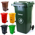 120L/240L Wheelie Bin Household Council Rubbish Recycling Outdoor Waste Recycle
