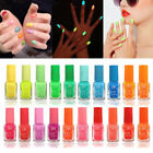 Hot Glow In The Dark Fluorescent Neon Luminous Nail Polish Varnish Paint Makeup