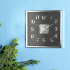 Latitude Run Letha Modern Square Wall Clock