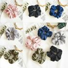 Women Elastic stretch Hair Ties Band Rope Ponytail Holders Scrunchies Pure Color